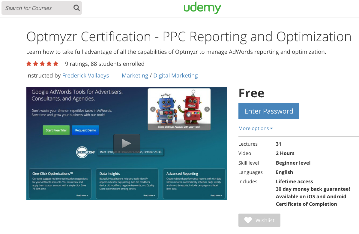 optmyzr-on-udemy