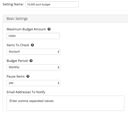 Don't spend more than intended in an AdWords account using this Enhanced Script.