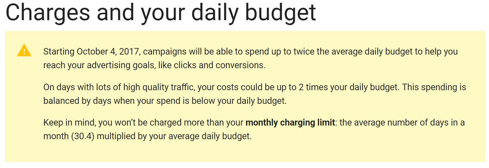 AdWords Can Now Spend Twice Your Daily Budget – What You Can Do