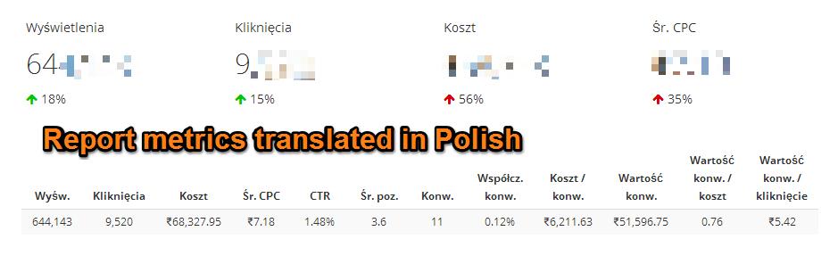 Internationalization of ReportsPolish - BlogPost