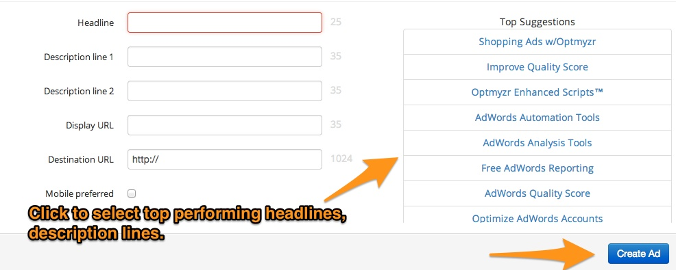 AB Testing - Create Ads - BlogPost