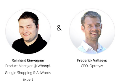 Join Optmyzr and Whoop! to learn how to optimize Shopping Ads