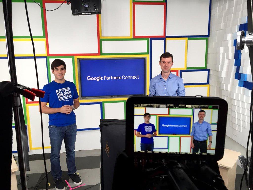 Optmyzr at Google Partners Hangout Studio
