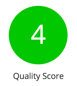Quality Score as a KPI in reports.png